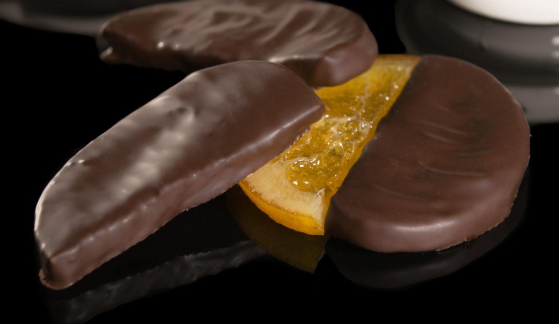 Πορτοκάλι φέτα κουβερτούρα υγείας