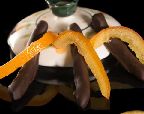 Πορτοκάλι στικ κουβερτούρα υγείας