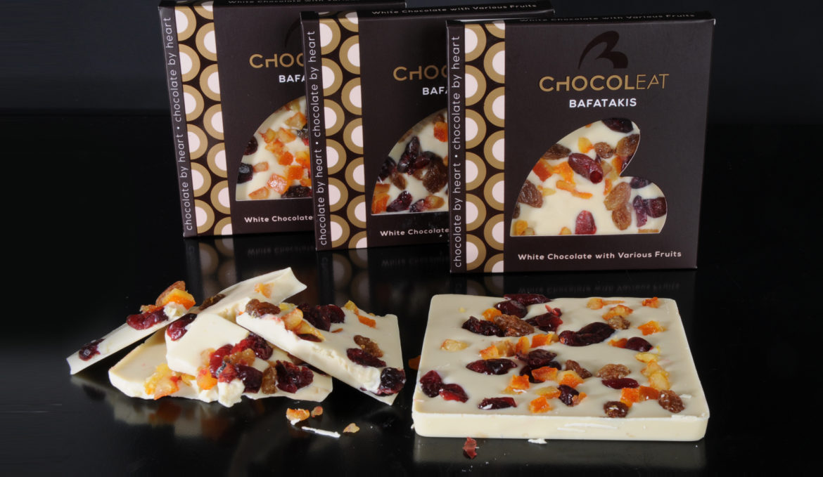ChocolEat White chocolate with various fruits 90gr