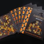 ChocolEat σοκολάτα υγείας με κύβους πορτοκαλιού 90γρ