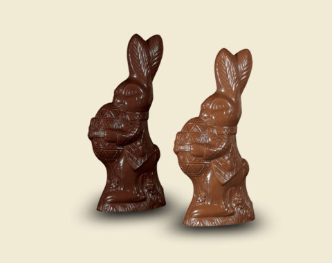 Easter Hare with egg 400gr