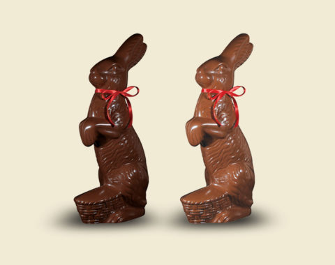 Easter Large Hare 800gr