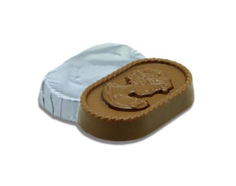 Wrapped Gianduja milk sugar free chocolate