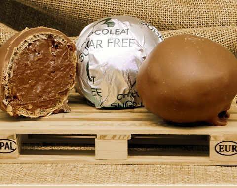 Wrapped Roche milk sugar free chocolate
